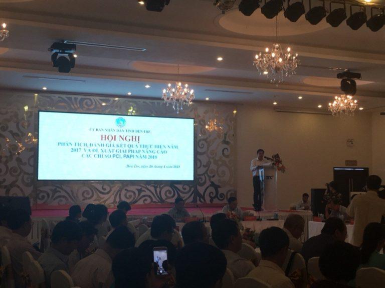 Hội nghị phân tích đánh giá kết quả PCI, PAPI năm 2018